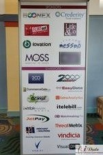 Sponsors Signage at iDate2010 Miami