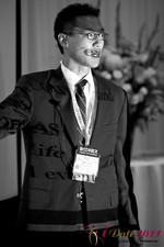 Douglass Lee (Vice President at Click2Asia) at the 2011 Internet Dating Industry Conference in Beverly Hills
