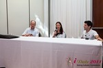 Mobile Dating Panel (Raluca Meyer of Date Tracking) at the 2011 Online Dating Industry Conference in Beverly Hills