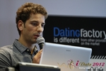 David Khalil (Co-Founder of eDarling) at the September 10-11, 2012 Cologne Euro Internet and Mobile Dating Industry Conference
