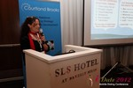 Beverly May (CEO and Founder of Minidates) at iDate2012 California