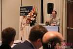 Brian Bowman (CEO of TheComplete.me) during Keynote Address at the 2012 California Mobile Dating Summit and Convention