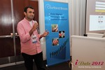 Dwipal Desai (CEO of TheIceBreak.com) at the 2012 Online and Mobile Dating Industry Conference in L.A.