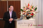 Mark Brooks (CEO of Courtland Brooks) at the 2012 Online and Mobile Dating Industry Conference in L.A.