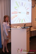 Amanda Mills (Director of Product at AOL Mobile) at the 2012 Online and Mobile Dating Industry Conference in L.A.