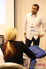 Dwipal Desai (CEO of TheIceBreak.com) covers monetization during a relationship at iDate2012 California