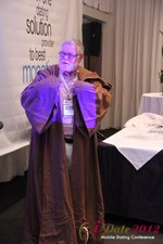 Jonathan Crutchley (Chairman at Manhunt) is actually Obi Wan Kenobi! at the June 20-22, 2012 L.A. Internet and Mobile Dating Industry Conference