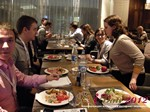 Lunch at the 2012 Russia Online Dating Industry Conference in Russia
