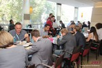 Lunch at the 10th Annual European Union iDate Mobile Dating Business Executive Convention and Trade Show