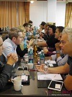 Speed Networking at the September 16-17, 2013 Köln European Union Internet and Mobile Dating Industry Conference