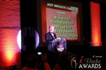 Sam Moorcroft announcing the Most Innovative Company at the 2013 iDateAwards Ceremony in Las Vegas