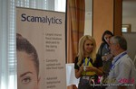 Exhibit Hall, Scamalytics Sponsor  at the 39th iDate2014 Cologne convention