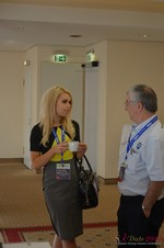 Exhibit Hall  at the September 8-9, 2014 Cologne European Online and Mobile Dating Industry Conference