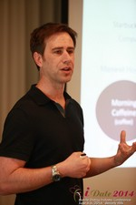 Author Neal Cabage Of The Smarter Startup at the 2014 L.A. Mobile Dating Summit and Convention