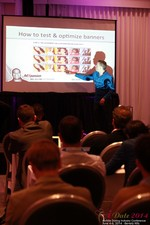 Axel Vezina, Chief Analytics Officer For Crak Media On Best Strategies For Mobile Dating Conversions  at the 2014 L.A. Mobile Dating Summit and Convention
