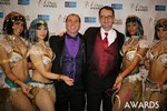 Marc Lesnick & Mark Brooks (iDate Awards Thanks You!) at the 2014 Las Vegas iDate Awards