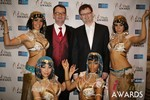 Mark Brooks & Markus Frind  at the 2014 Las Vegas iDate Awards