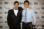 Arthur Malov & Kevin Feng  at the January 15, 2014 Internet Dating Industry Awards Ceremony in Las Vegas