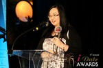 Michelle Li of Successful Match (Winner of the DatingWebsiteReview.net Award for Best New Feature) at the 2014 Internet Dating Industry Awards Ceremony in Las Vegas