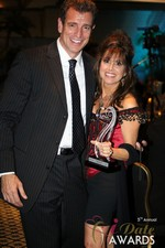 Renee Piane (Winner of Best Dating Coach) at the 2014 iDateAwards Ceremony in Las Vegas
