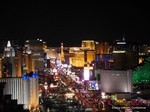View of Las Vegas Strip - Party @ Foundation Room at iDate Expo 2014 Las Vegas