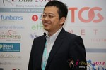 CFO of Jiayuan at iDate at iDate Expo 2014 Las Vegas