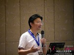Dr. Song Li - CEO of Zhenai at the 2015 Asia Online Dating Industry Conference in Beijing