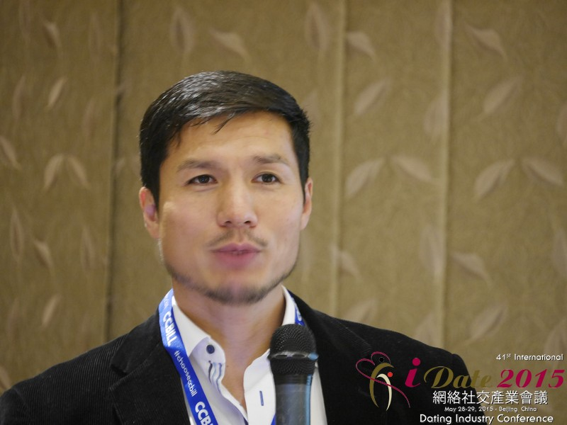 Alvin Graylin   CEO of Guanxi me at iDate     China iDate