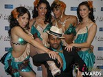 The 2015 iDate Award Dancers in Las Vegas at the January 15, 2015 Internet Dating Industry Awards