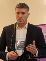 Hristo Zlatarsky CEO Elitebook.bg With Insights On The Bulgarian Mobile And Online Dating Market at the 12th Annual European Union iDate Mobile Dating Business Executive Convention and Trade Show