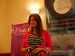 Juliette Prais CEO of Pink Lobster Dating Speaking at CEO Therapy at the 12th Annual European Union iDate Mobile Dating Business Executive Convention and Trade Show