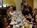 Lunch Among European And Global Dating Industry Executives   at the October 14-16, 2015 London European Union Online and Mobile Dating Industry Conference