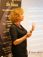 Mary Balfour CEO And Managing Director Of Drawing Down The Moon  at the 2015 European Union Internet Dating Industry Conference in London
