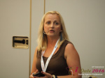 Krystina Trushnya - Publisher of Ukranian Dating Blog at the 45th Dating Agency Industry Conference in Limassol