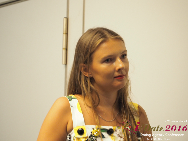 Svetlana Mukha - CEO of Diolli at the July 20-22, 2016 P.I.D. Industry Conference in Limassol,Cyprus