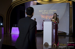 Svetlana Mukha Presenting the Best Up & Coming Dating Site Award in Miami at the January 26, 2016 Internet Dating Industry Awards