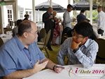 Networking  at the June 8-10, 2016 Mobile Dating Negócio Conference in Los Angeles