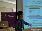 Takuya Iwamoto (Diverse-yyc-co-jp)  at the iDate Mobile Dating Business Executive Convention and Trade Show
