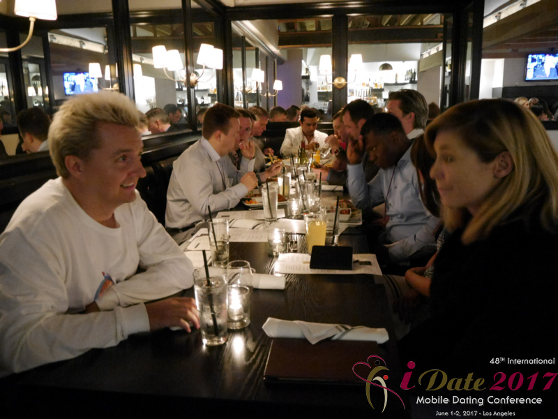 Networking Party at the 2017 Internet and Mobile Dating Indústria Conference in Studio City