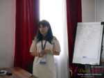Elena Vygnanyuk at the July 19-21, 2017 Premium International Dating Industry Conference in Belarus