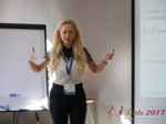 Julia Lanske at the 49th Premium International Dating Business Conference in Minsk